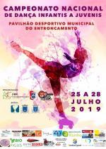 Campeonato Nacional de dança de infantis a juvenis